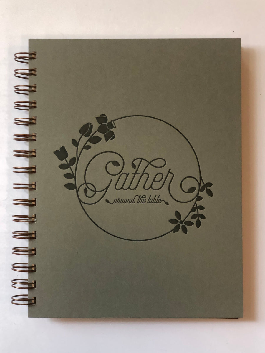 Ruff House Art- Gather Around the Table- Recipe Cookbook