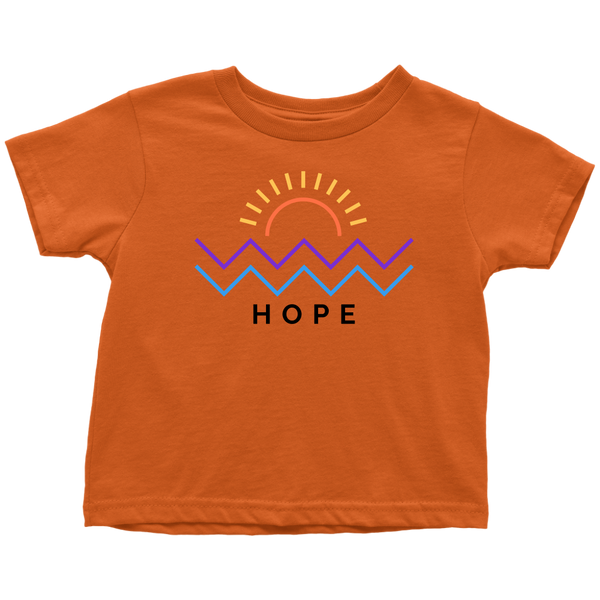 Hope Is Coming Toddler Tee Color