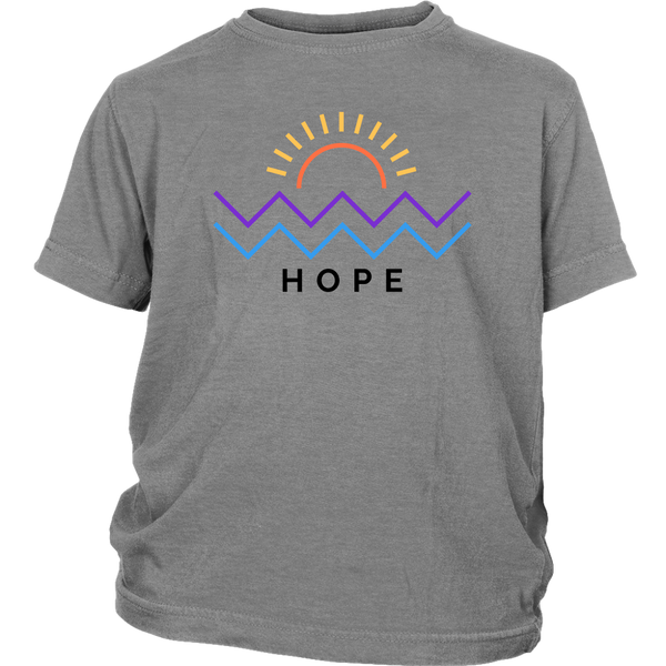 Hope Is Coming Youth Tee Color