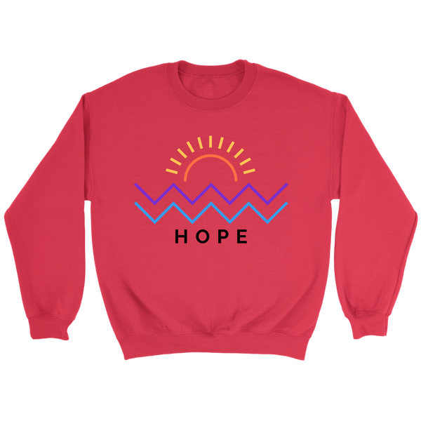Hope Is Coming Crewneck Color
