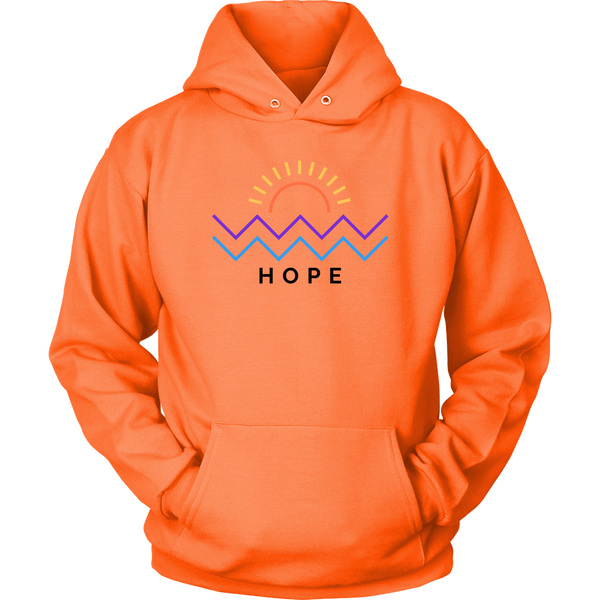 Hope Is Coming Hoodie Color