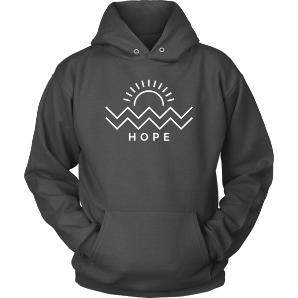 Hope Is Coming Hoodie White