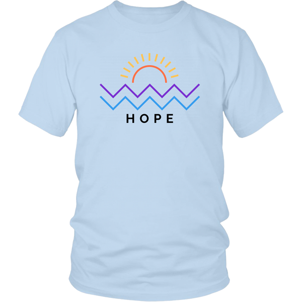 Hope Is Coming Unisex Tee Color