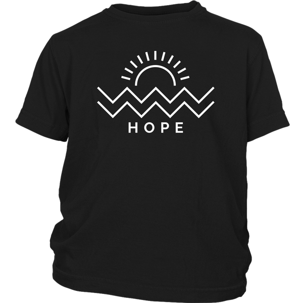 Hope Is Coming Youth Tee White