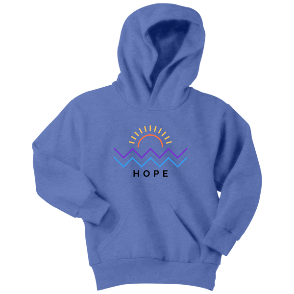 Hope Is Coming Youth Hoodie Color