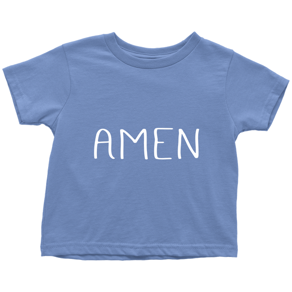 Amen Toddler Shirt