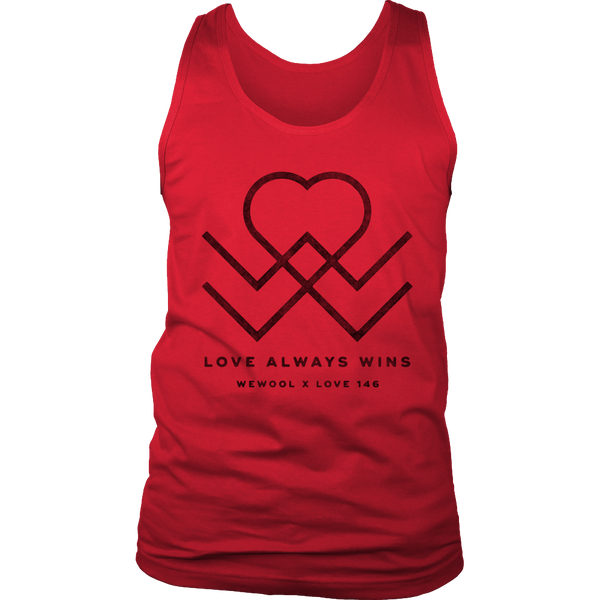 Love Always Wins Mens Tank
