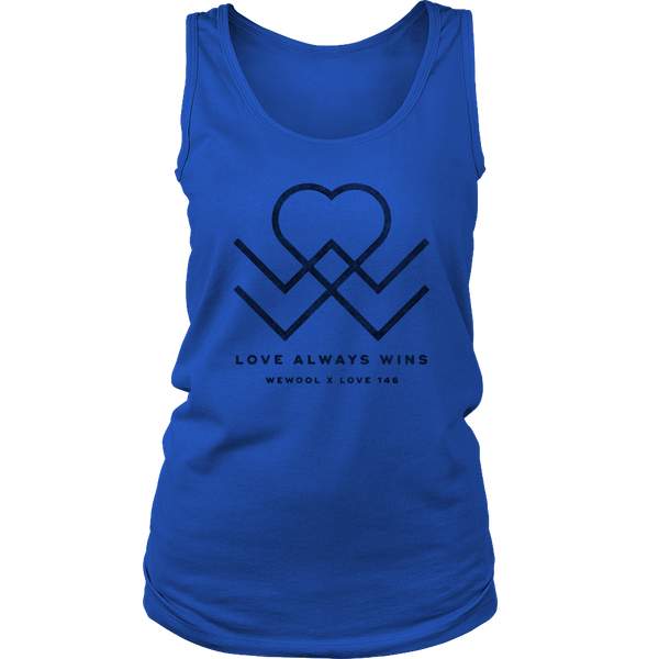 Love Always Wins Womens Tank