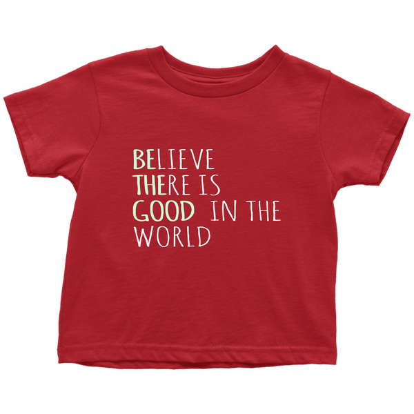 Believe Toddler Shirt