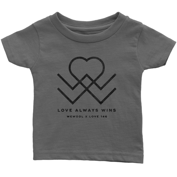 Love Always Wins Baby Shirt