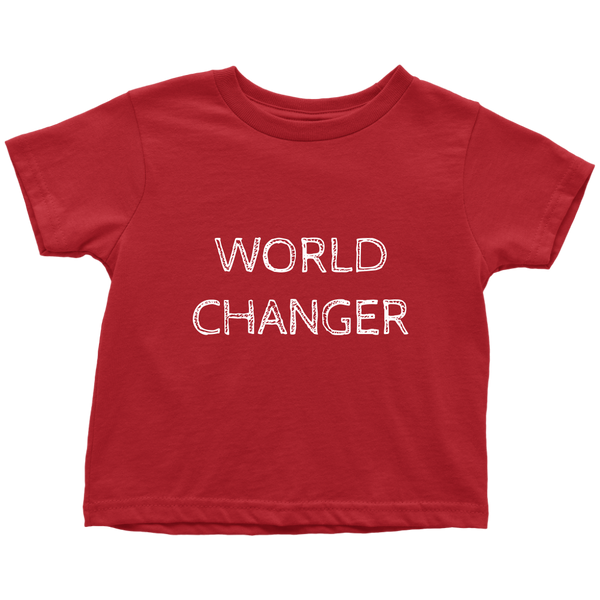 World Changer Toddler Shirt