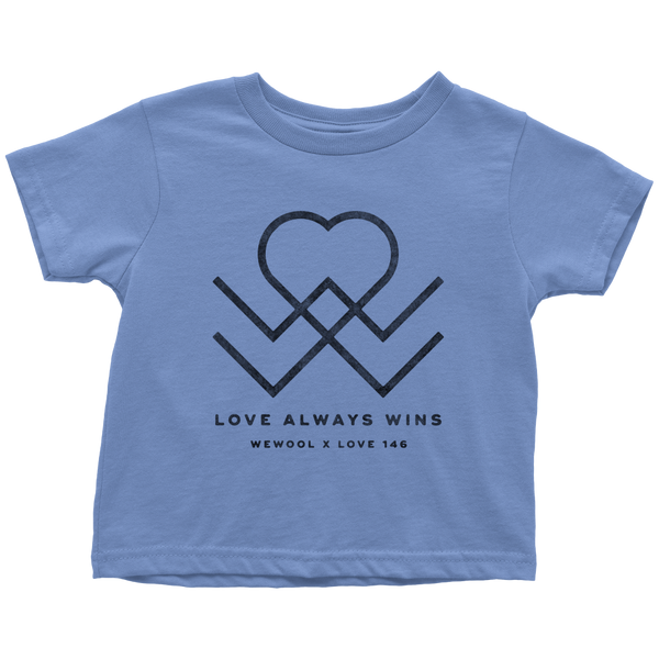 Love Always Wins Toddler Shirt