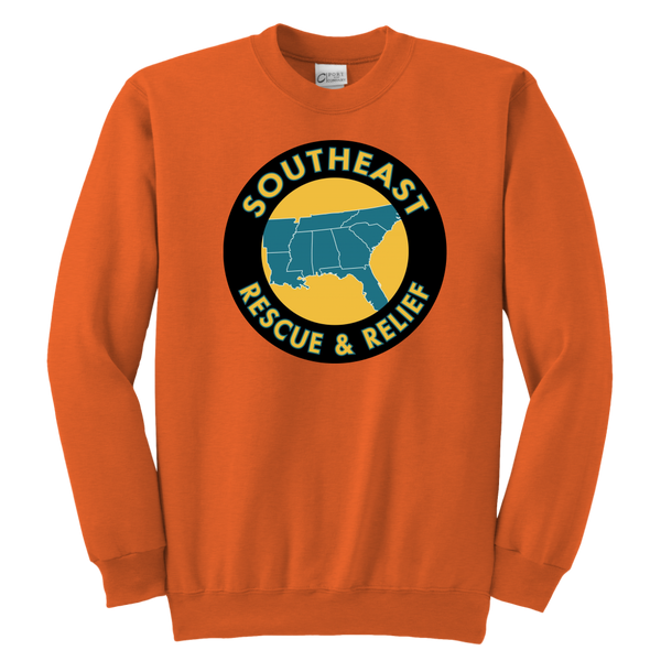 SE Rescue & Relief Youth Crewneck