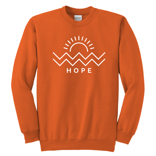 Hope Is Coming Youth Crew White