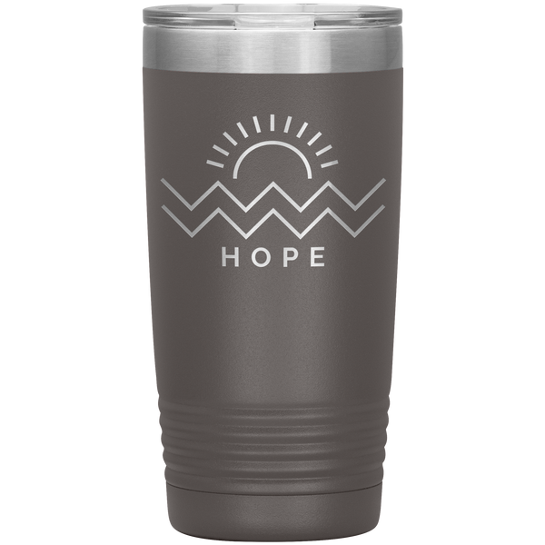 Hope Is Coming Tumbler