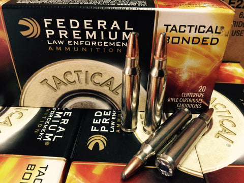 223 REM 62GR Federal Tactical Bonded (LE223T3)
