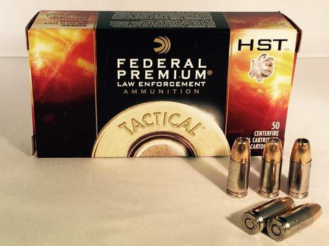 9MM 124GR +P Federal Premium Tactical HST JHP (P9HST3) - PFCLoadout powered by Bone Frog Gun Club