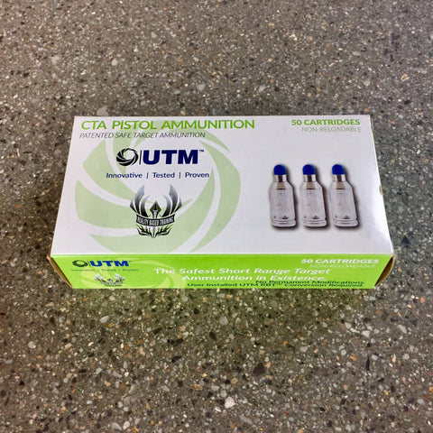 UTM Civilian Target Ammunition 9mm Handgun Rounds (01-3123) - PFC Loadout powered by Bone Frog Gun Club