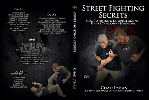 Street Fighting Secrets 4 DVD Set by Chad Lyman
