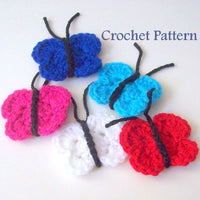 Butterfly Crochet Pattern PDF