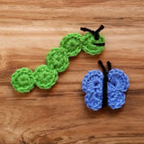 Caterpillar and Butterfly Crochet Pattern Bundle