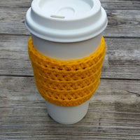 Coffee Cup Cozy Crochet Pattern