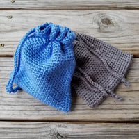 Drawstring Bag Crochet Pattern