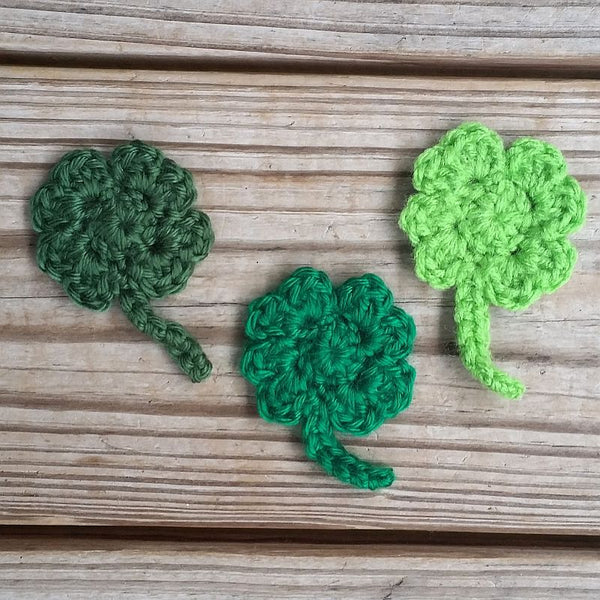 Four-Leaf Clover Crochet Pattern