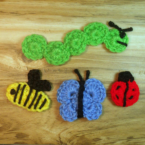 Insect Crochet Pattern Bundle PDF