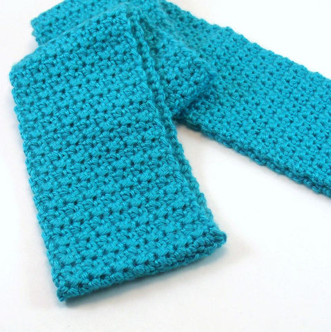 Textured Scarf Crochet Pattern PDF