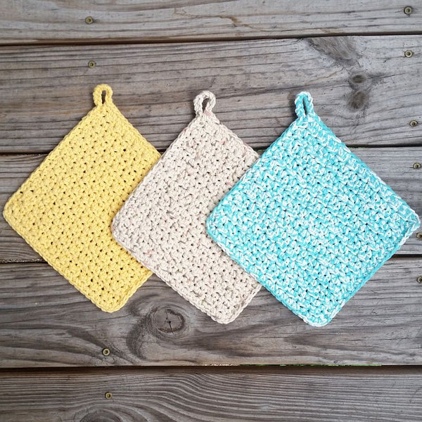 Textured Potholder Crochet Pattern