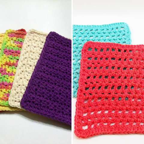 Crochet Dishcloth Pattern Bundle PDF