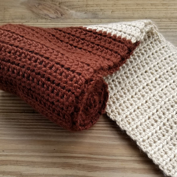 Two-Toned Scarf Crochet Pattern