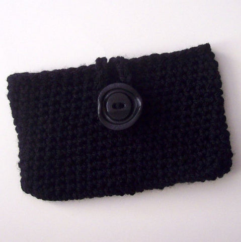 Open Closure Wallet Crochet Pattern PDF