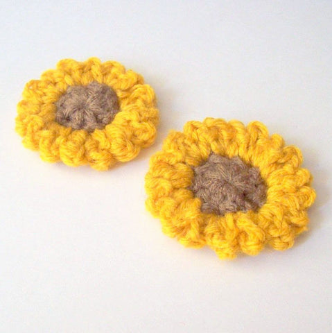Sunflower Crochet Pattern PDF