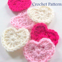 Heart Crochet Pattern PDF