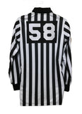 Lacrosse 1 Inch Long Sleeve Shirt W/Number & Flag
