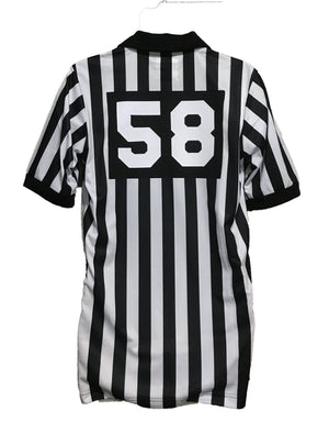 Lacrosse 1 Inch Short Sleeve Shirt W/Number & Flag