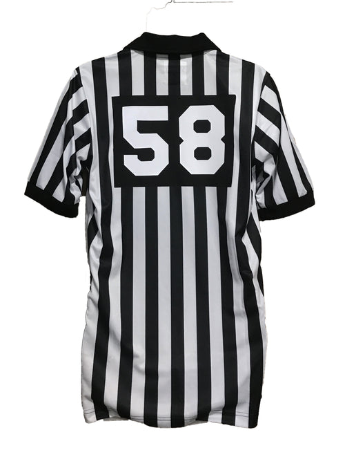 Football 1 Inch Short Sleeve Shirt W/Number & Flag
