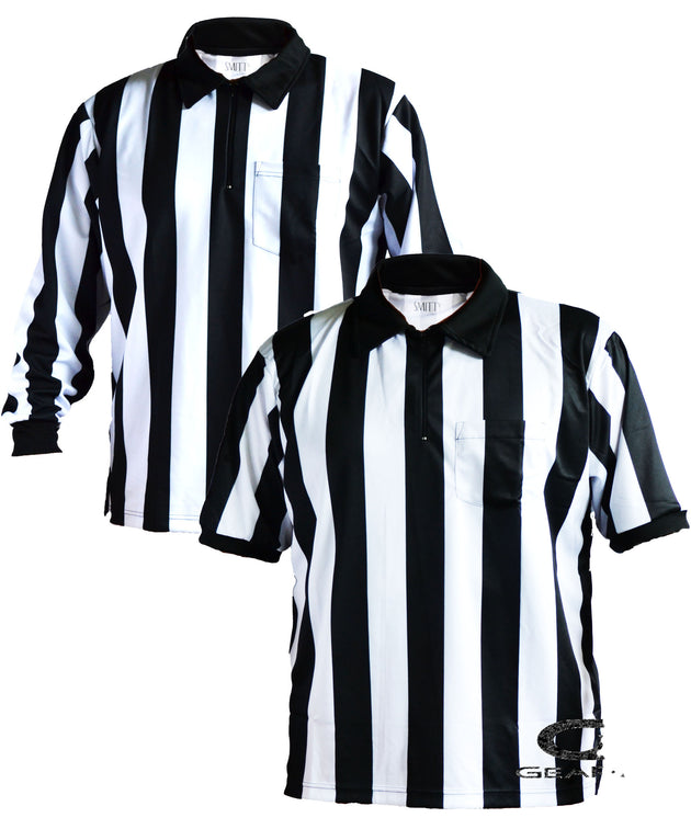 Football 2 Inch Stripe Shirt Package - Gearef-Gearef officiating supplies