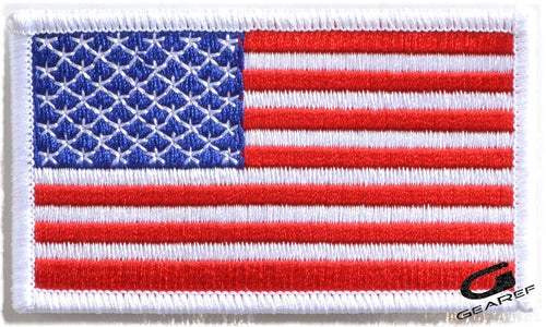 American Flag Embroidered Patch - Penn Emblem-Gearef officiating supplies