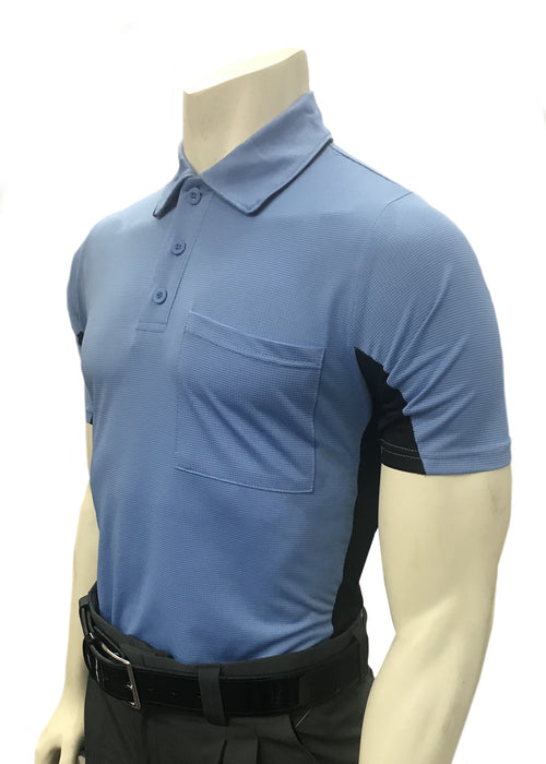 Smitty MLB Replica Body Flex Umpire Shirt-SKY BLUE