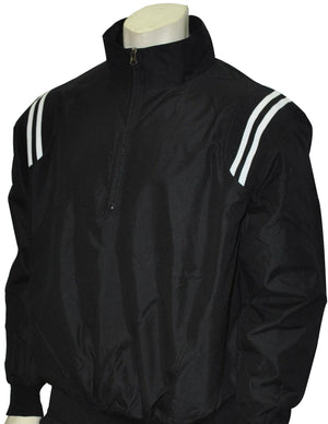 UMPIRE PULLOVER JACKET - BLACK