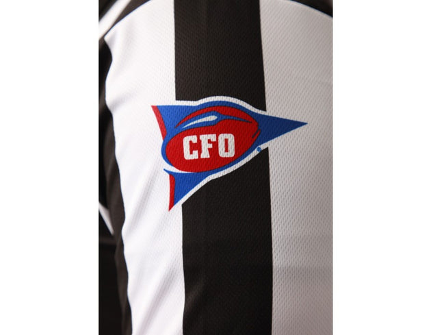 SmittyUSA-Dye sumblimated CFO Football Jersey-Short Sleeve - Smitty Official's Apparel-Gearef officiating supplies - 3