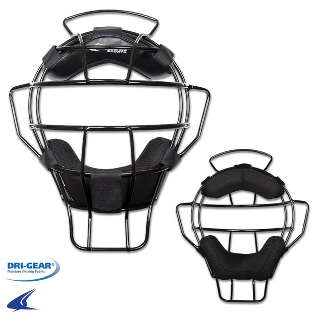 Lightweight Umpire Mask-BLACK/BLACK