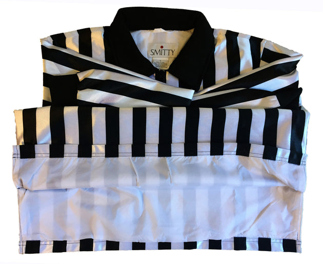 """THE HYBRID""-SMITTY WATER RESISTANT LONG SLEEVE SHIRT 1-INCH STRIPE"