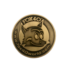 Fox40 Tossing Coin