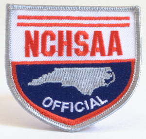 NCHSAA Patch - gearef-Gearef officiating supplies