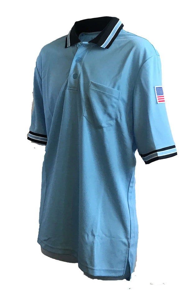 VIRGINIA STYLE UMPIRE SHIRT-LIGHT BLUE