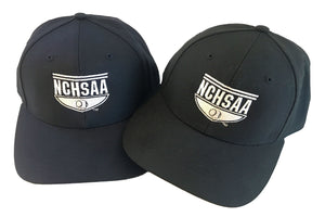 NCHSAA UMPIRE BASE HAT-8 STITCH BRIM